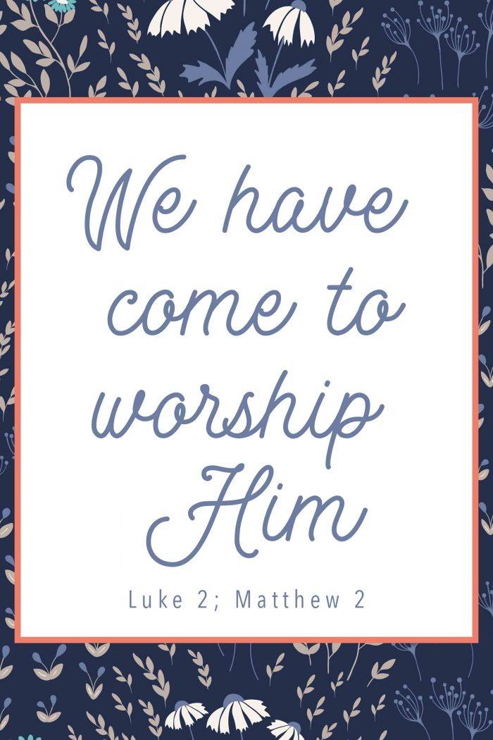 Luke 2; Matthew 2-Primary Lesson Help-Come Follow Me-New Testament