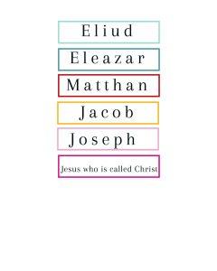 Jesus Christs Lineage kids word scramble
