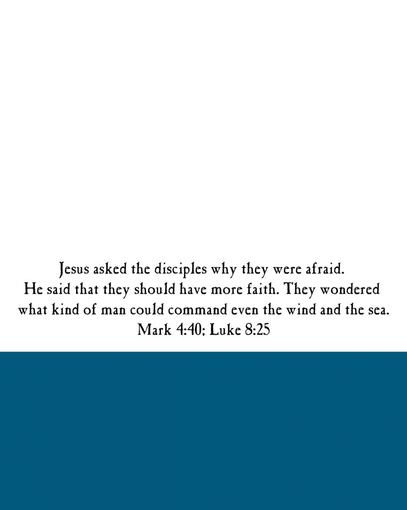Jesus Calms the Sea Story Visuals