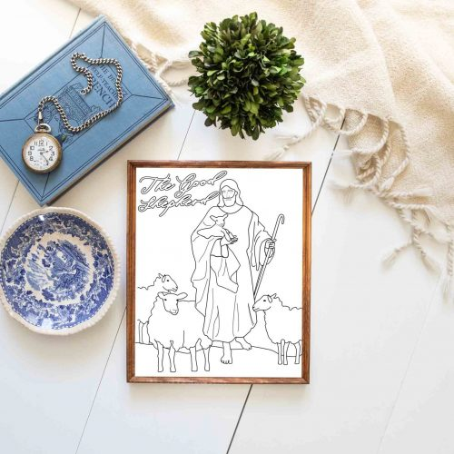 The Good Shepherd Story-primary lesson come follow me