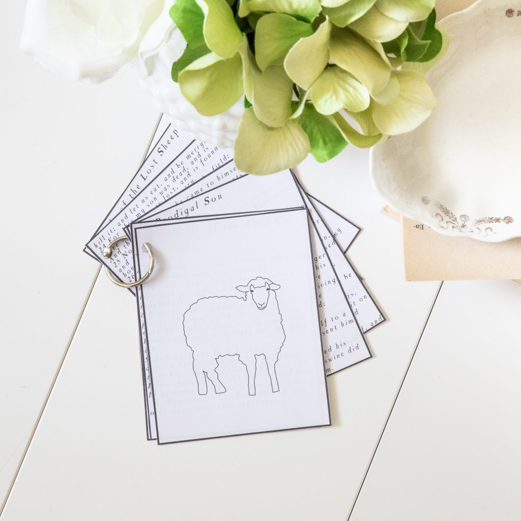 """lost sheep lesson for kids-Come Follow Me Primary Lesson May 6th-12th """"rejoice with me: for I have found my sheep which was lost"""" Luke 12-17-John 11"""