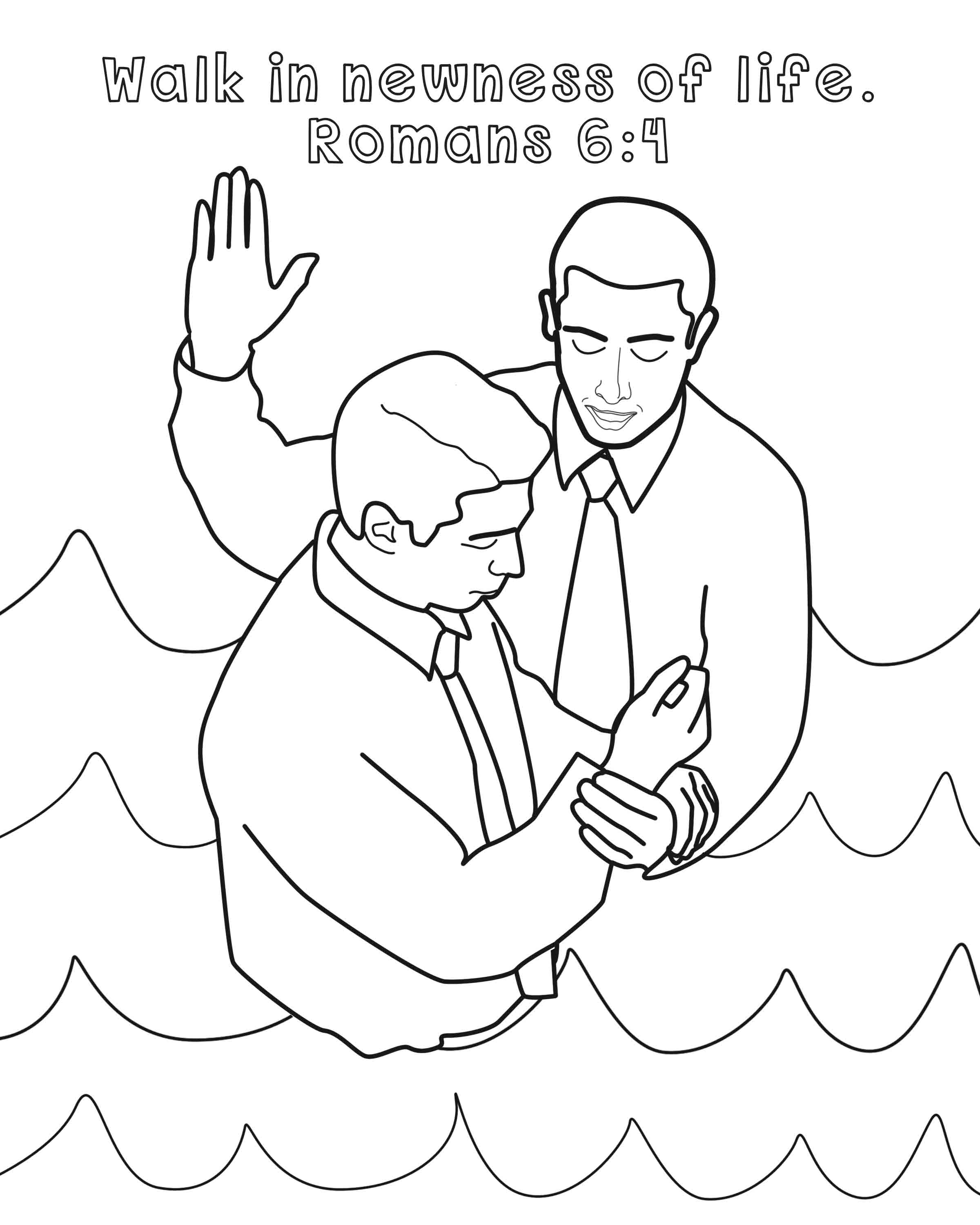 Library of black and white church young baptism lds clipart png ... | 3000x2400