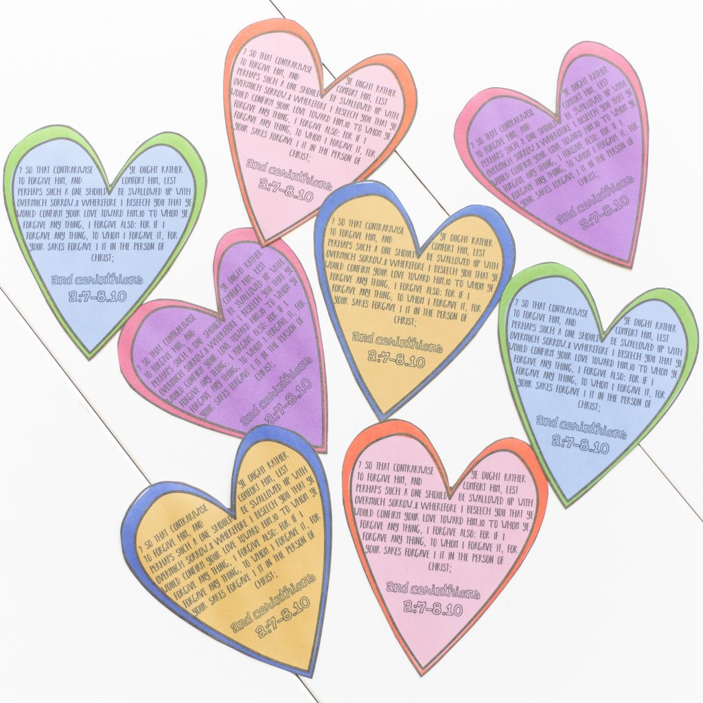 """""""Be Ye Reconciled to God""""-2 Corinthians 1–7-September 9–15 Hearts"""
