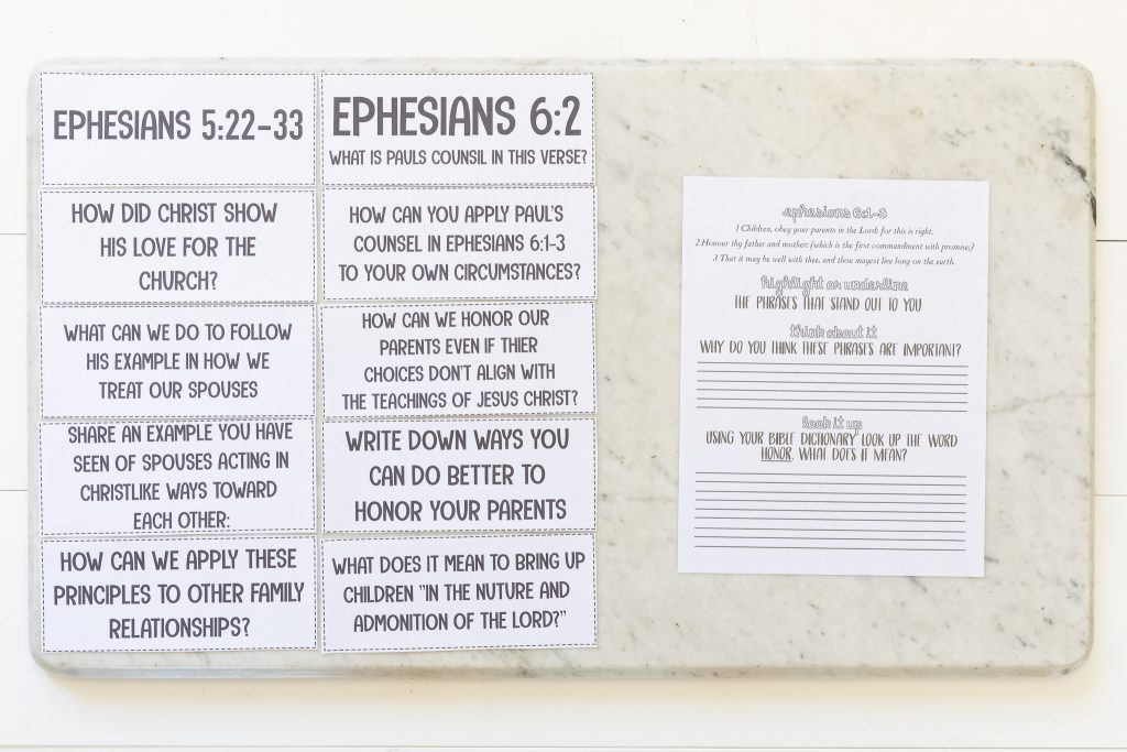 """September 30–October 13 Ephesians """"For the Perfecting of the Saints"""", Come, Follow Me—For Individuals and Families."""